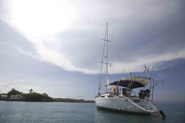 Take some time time to relax in Cartagena, Colombia aboard 44' Sailing Yacht
