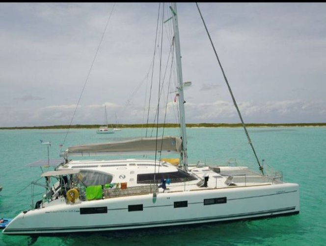 Hop aboard 48' sailing CAT to explore Colombia