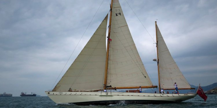 Climb aboard this sailboat for a great experience!