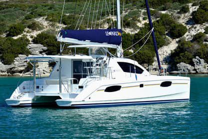 Catamaran boat for rent in Tanjung Tokong