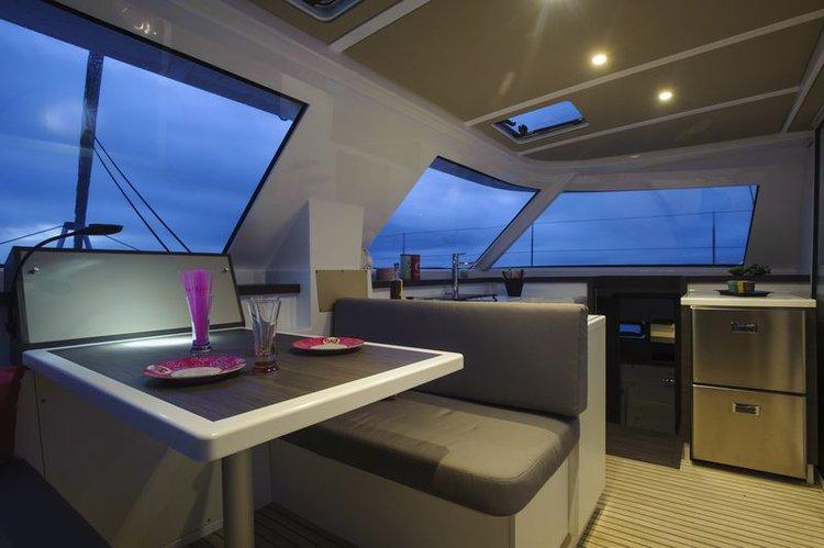 Catamaran boat for rent in Sibenik