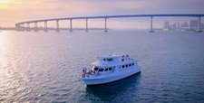 73' Luxury Yacht on San Diego Bay for Up To 49 People