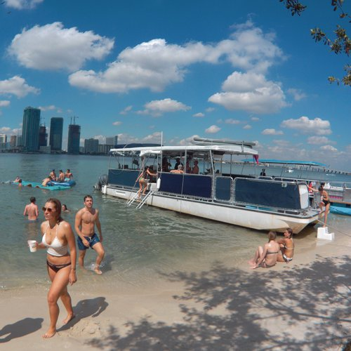 25-39 Guests Large Party Boat in Miami