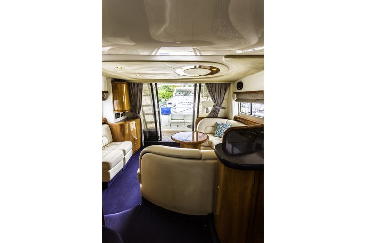 Discover Road Town surroundings on this 51 Cranchi Atlantique boat