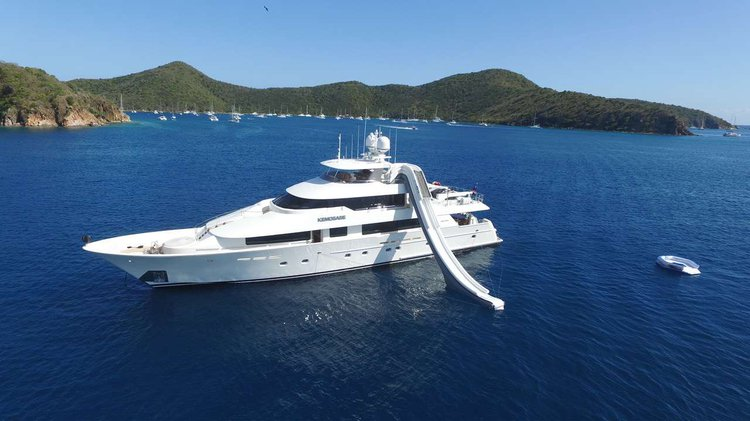 Cruise in style on this beautiful 130' motor yacht for charter