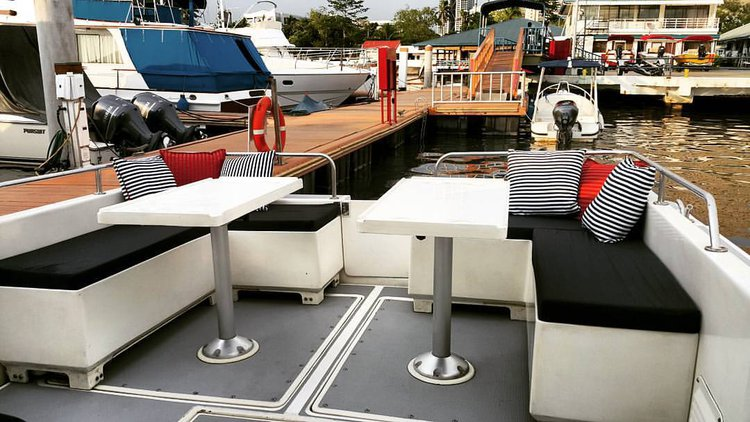 Motor yacht boat for rent in Manila