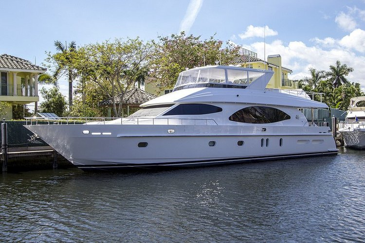 Have fun in the sun on this BVI's 80' motor yacht charter