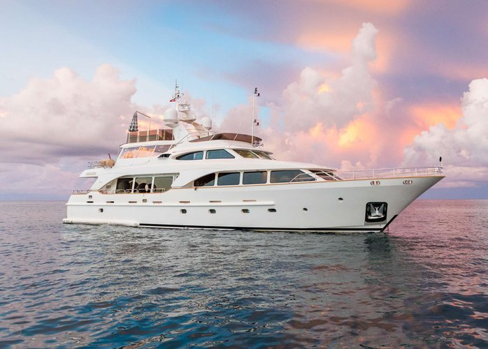 "Enjoy luxury and comfort on this BVI""s motor yacht charter"