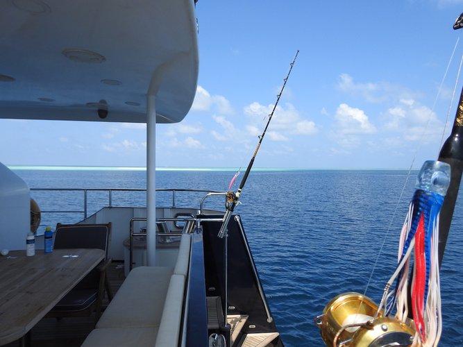 Boat for rent Ferretti 78.5 feet in Hulhumalé,