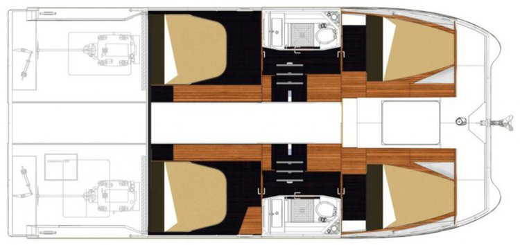 Discover Road Town surroundings on this MY37 Fountaine Pajot boat