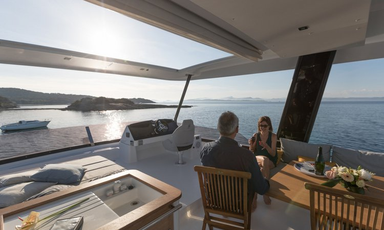 Fountaine Pajot's 44.0 feet in Road Town