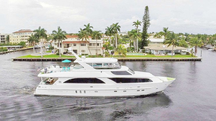 Take this lavish 101' motor yacht for a spin