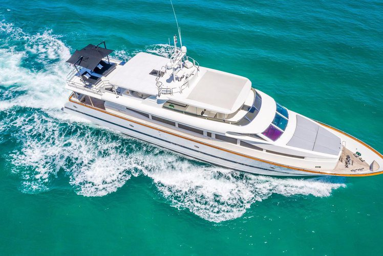 Mega Yacht 115' Horizon for Full Day Charter in Miami