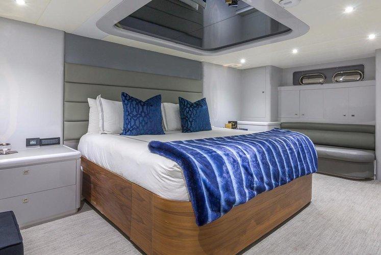 Discover Miami Beach surroundings on this 115' Mega Yacht Horizon boat