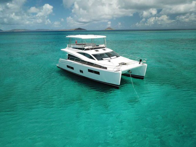 Climb aboard this 48' catamaran for a great experience