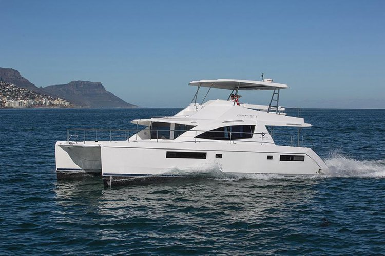 Cruise the fascinating Caribbean on a superb 51' Leopard for rent
