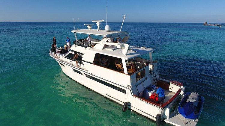 Boat rental in Cancún,