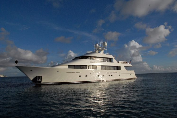 Experience cruising at its best on this motor yacht charter