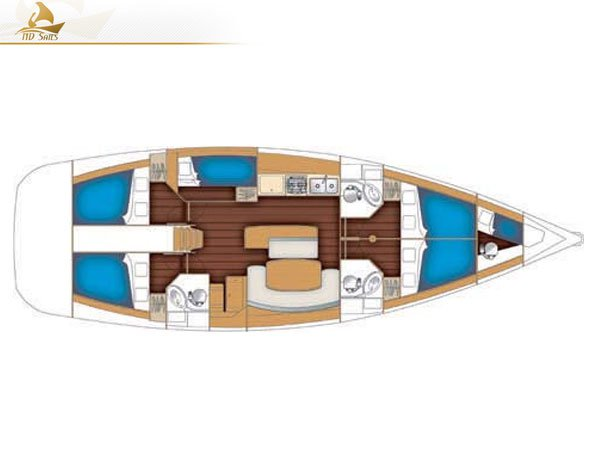 Boat for rent Beneteau 50.0 feet in Lavrio,