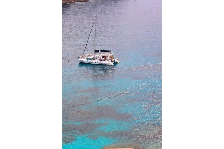 Boating is fun with a Catamaran in Thulusdhoo