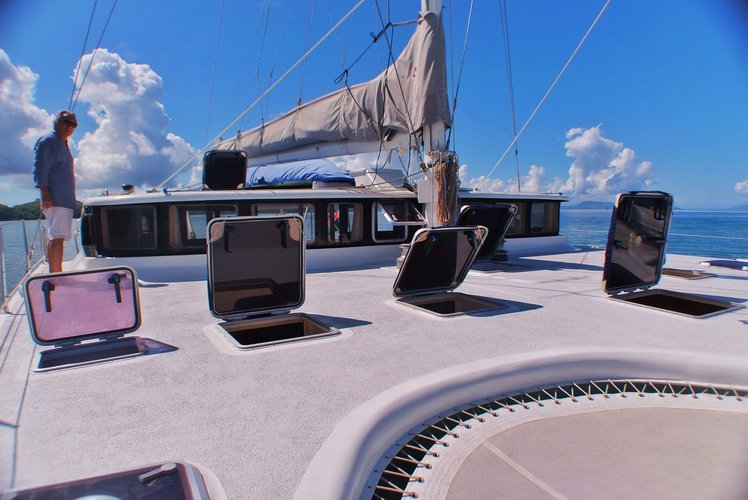 Trimaran boat rental in Nosy Be,