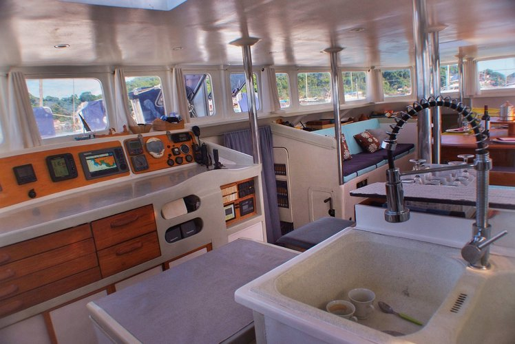 Trimaran boat for rent in Nosy Be