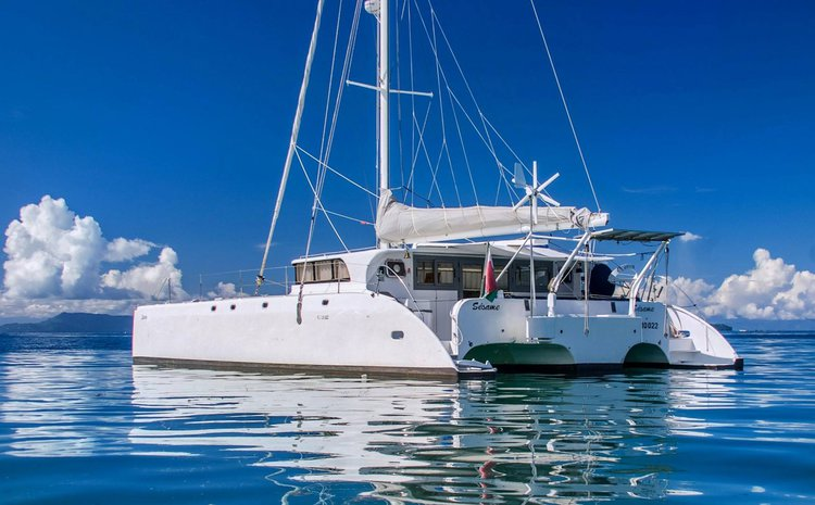 Hop aboard this amazing Trimaran in Madagascar!