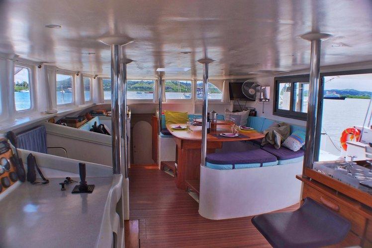 Discover Nosy Be surroundings on this Custom Custom boat