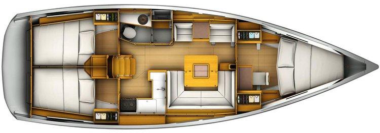 Discover Puerto Vallarta surroundings on this Sun Odyssey 419 Jeanneau boat
