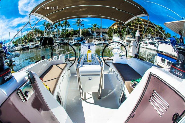 Jeanneau boat for rent in Puerto Vallarta