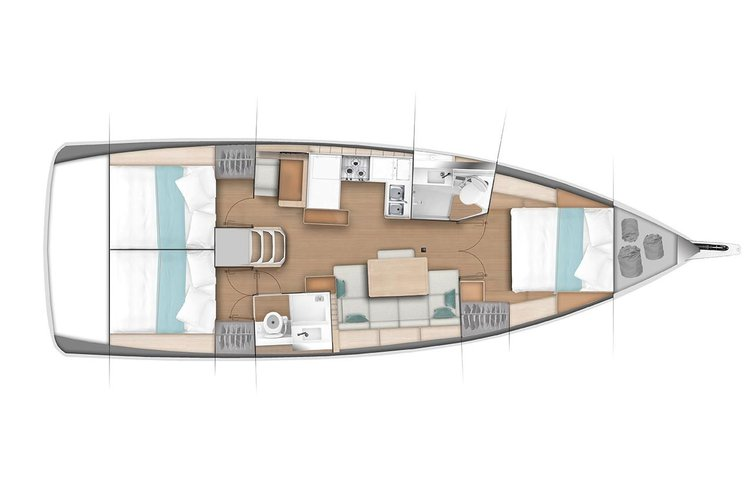 Discover Puerto Vallarta surroundings on this Sun Odyssey 440 Jeanneau boat