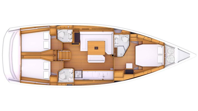 Boat for rent Jeanneau 48.0 feet in Puerto Vallarta, Mexico