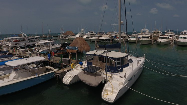 Boating is fun with a Catamaran in Cancún