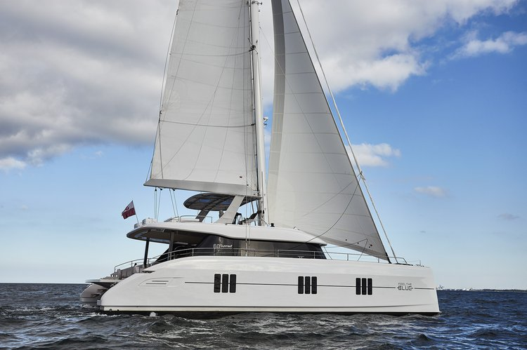 Experience Road Town on board this elegant  60' Sunreef