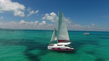 Sail the fascinating Mexico on a superb 38' Catamaran for rent