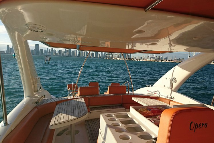 Motor yacht boat rental in Sea Isles Marina Downtown Miami, FL