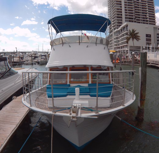 Trawler boat for rent in Miami