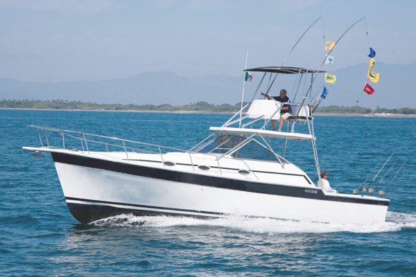 Rent this motor boat for a true boating adventure in Mexico