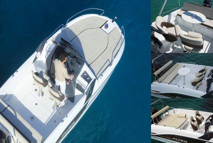 Beneteau's 22.5 feet in Trogir