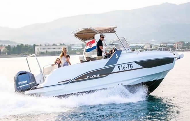 Beneteau boat for rent in Trogir