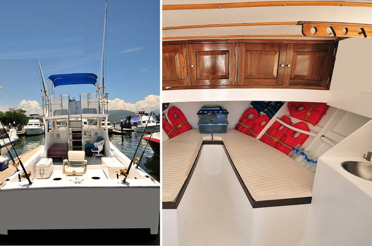 Discover Nayarit surroundings on this 36 Custom boat