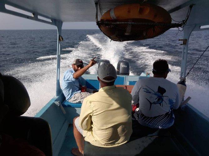 Discover Kuala Rompin surroundings on this Custom Custom boat