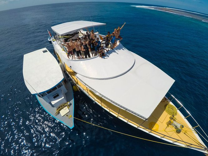 Boat for rent Custom 111.0 feet in Male, Maldives