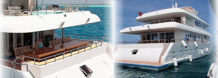 Up to 24 persons can enjoy a ride on this Mega yacht boat