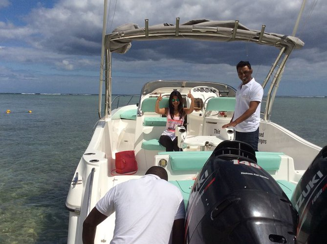 Boat for rent Custom 23.0 feet in Flic En Flac, Mauritius