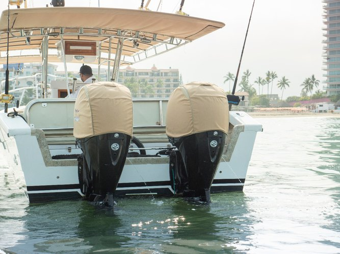 Center console boat for rent in Nayarit