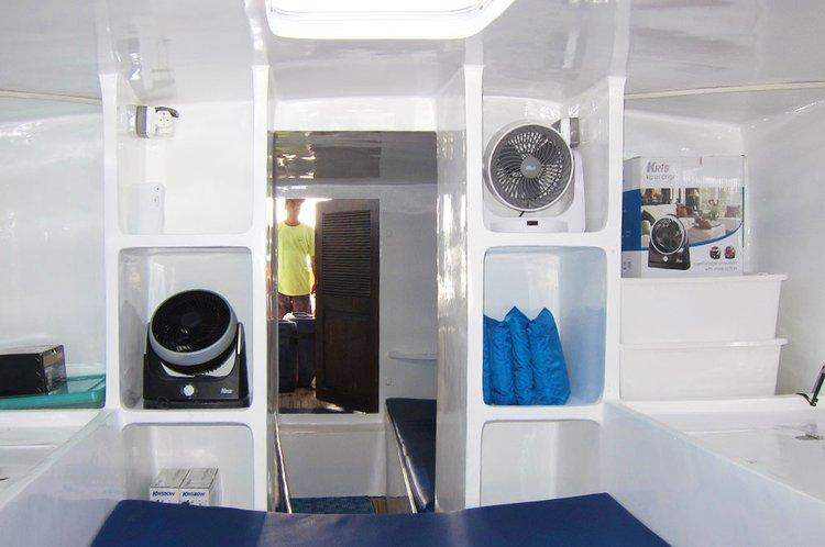 Discover Denpasa surroundings on this Custom Custom boat
