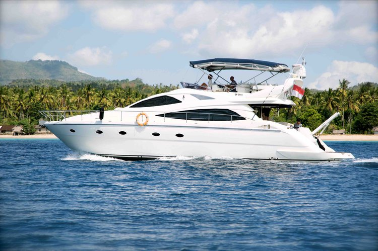 Sail the fascinating Indonesia on a superb motor yacht for rent