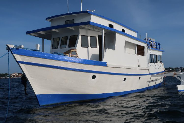 Hop aboard this  stunning motor boat rental in Philippines!