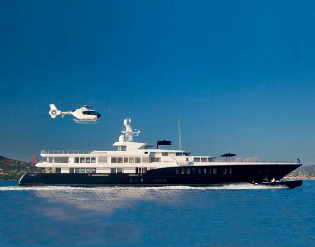 Feadship's 265.75 feet in Sicily